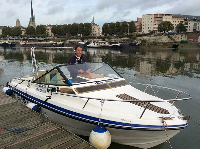 Permis Bateau Fluvial Rouen Normandie