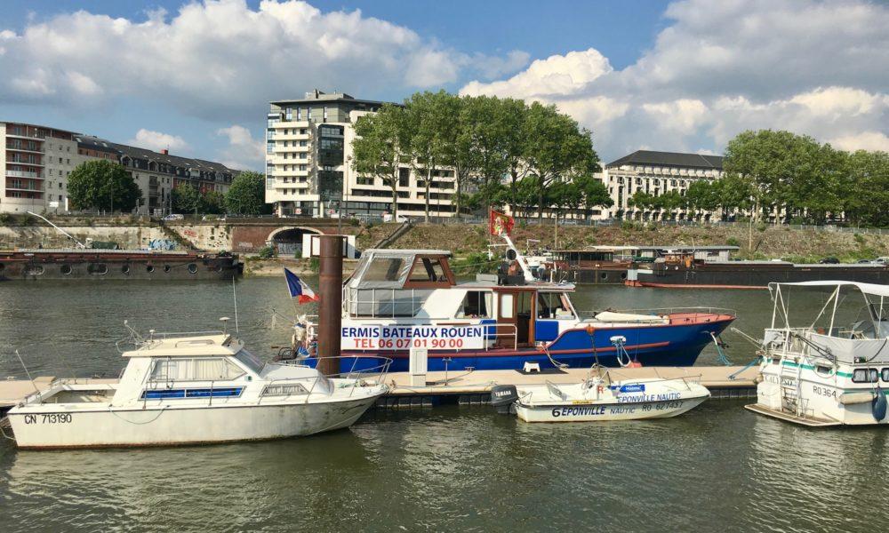 Permis Bateau Normandie Rouen ENF Armada Nuit Insolite Hébergement