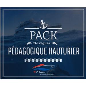 Pack Pédagogique Hauturier ENF Rouen Permis Bateaux Normandie Cotier Fluvial Grande Plaisance